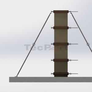 RAVAMENTO-E-APRUMAGEM-DE-PILAR-Simulação-de-montagem-vista-lateral-direita