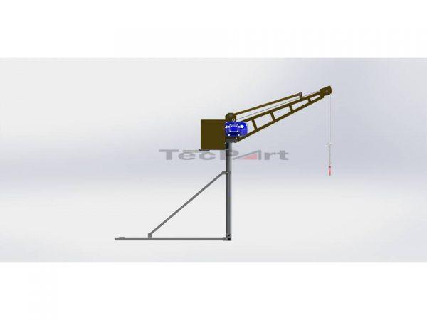 MINI-GRUA-CAP.-500-KG-MODELO-TP1-Vista-Lateral-Direita